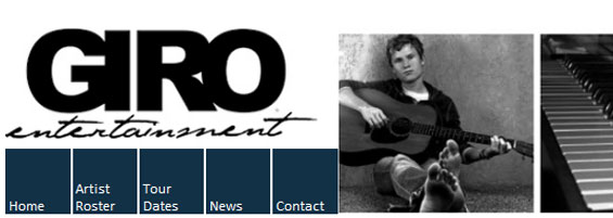 GIRO Entertainment Website